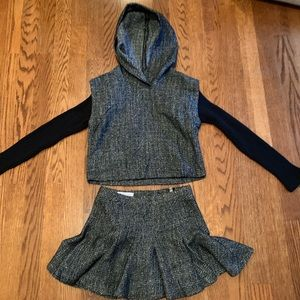 Cutest BCBG sparkle knit set